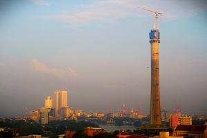 Lotus tower skyline